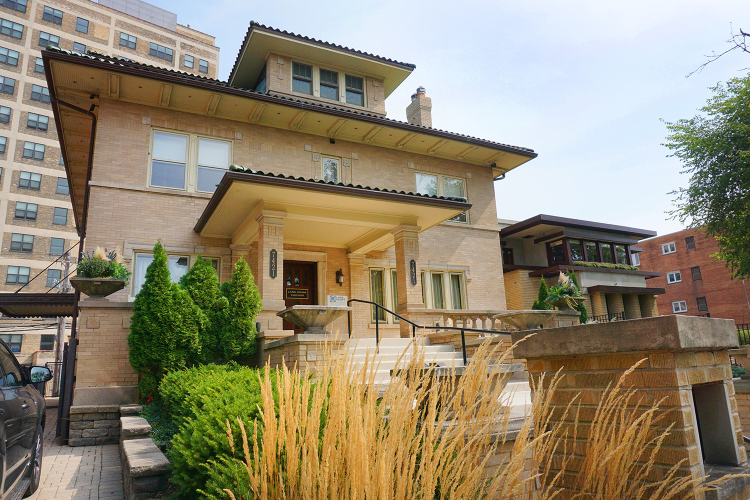 lang house chicago exterior