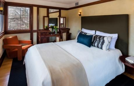 emil bach house bedroom & vanity