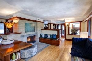 emil bach house living room