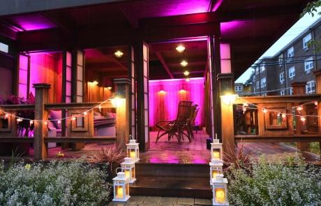 japanese tea house decor for birthday party