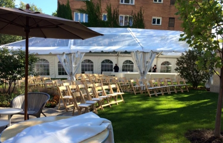 outdoor events at emil bach house