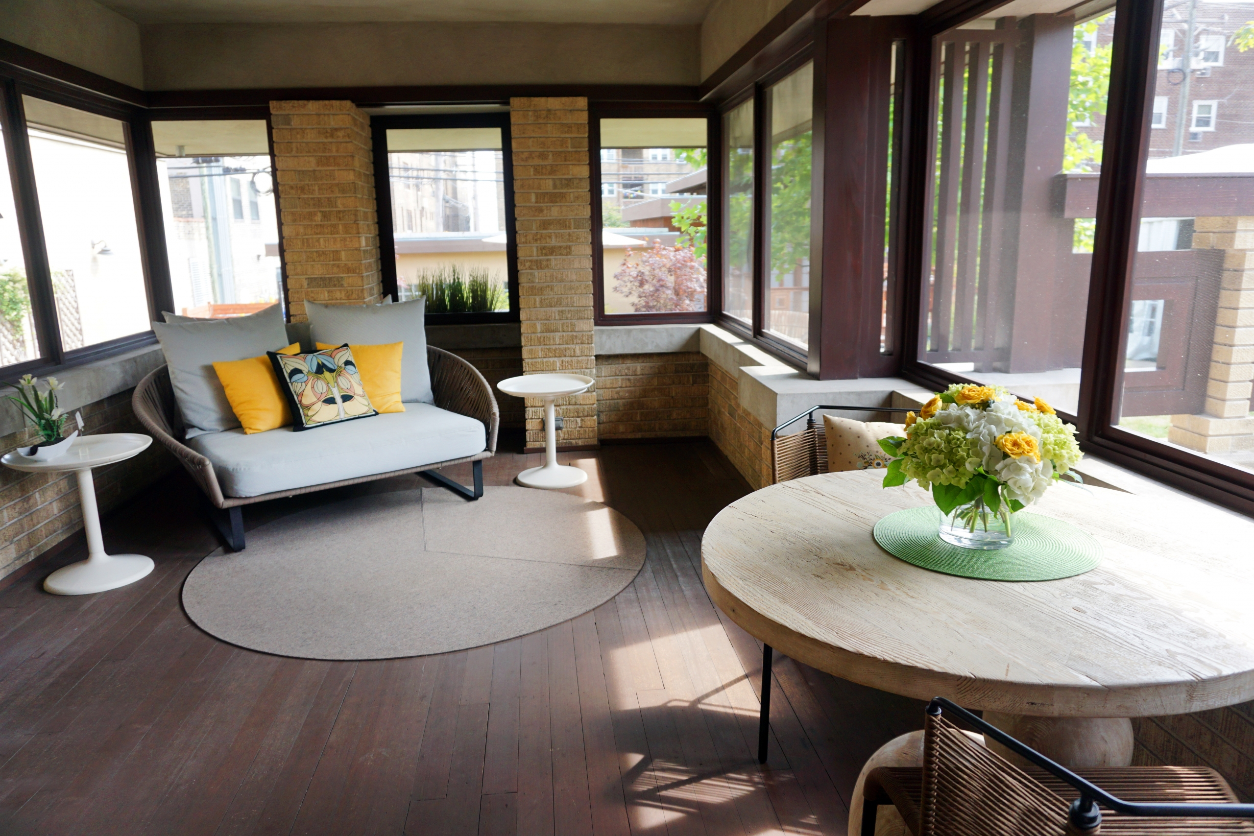 Lang House Outdoor Patio
