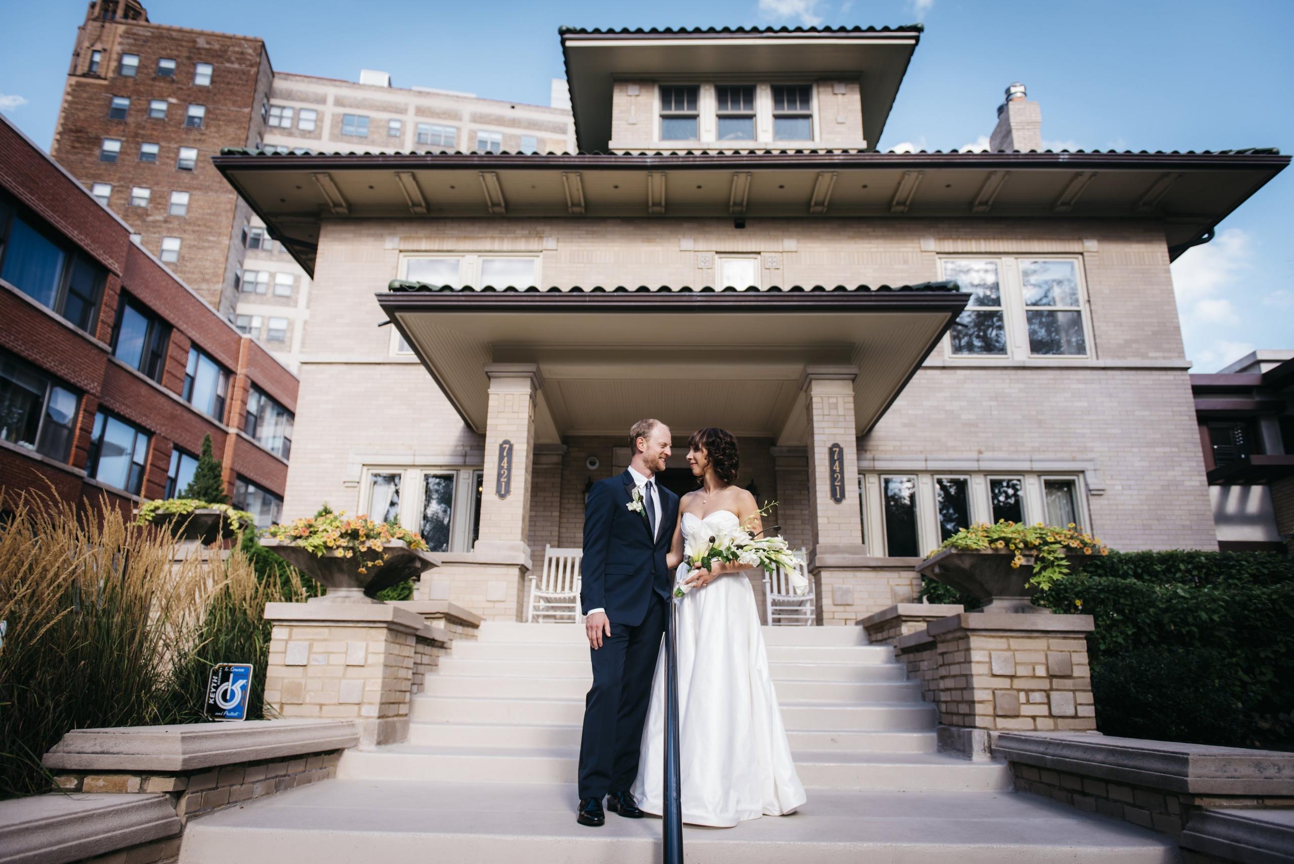 wedding at lang house chicago