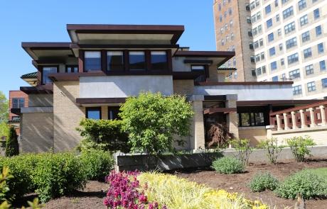 Frank Lloyd Wright Home Event rental