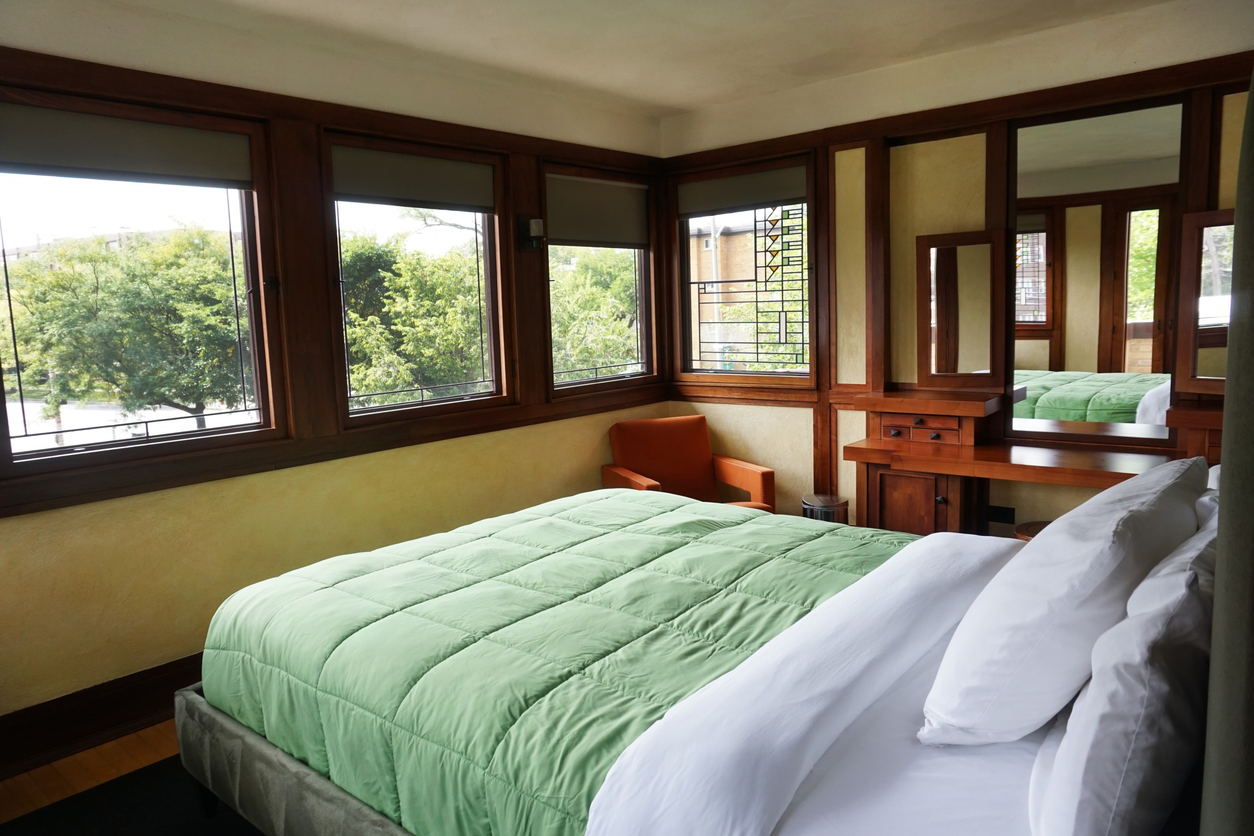 Stay in a Frank Lloyd Wright Home