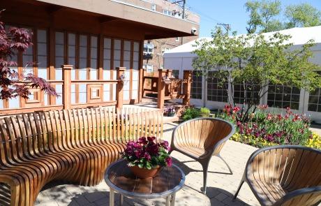 Japanese Tea House Event Venue