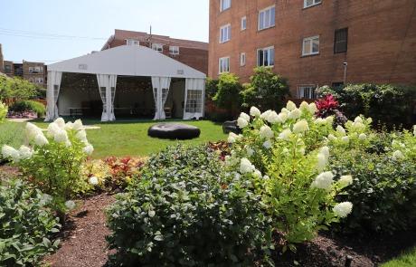 Chicago outdoor event rental